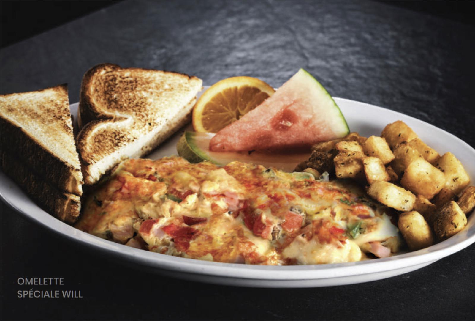 omelette spécial Will